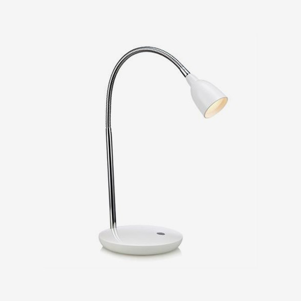 Tulip Bordlampa LED  -  Vit