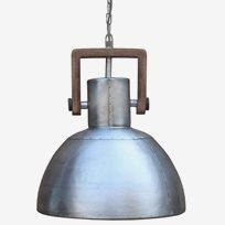 Asby Single Taklampa Silver